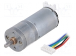 Dfrobot FIT0493 / Motor: DC; with encoder, with gearbox; 12VDC; 34:1; 350