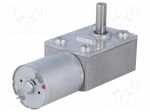 Dfrobot FIT0489-B / Motor: DC; with worm gear; 3÷9VDC; 150:1; dbl.sided
