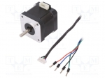 Dfrobot FIT0278 / Motor: stepper; 3.4VDC; dbl.sided shaft: no; max.16mNm;