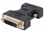 Assmann AK-320505-000-S / Adapter; D-Sub 15pin HD plug, DVI-I (24+5) sock