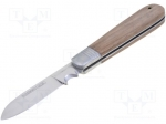 Bahco 2820EF1 / Knife; for electricians; 200mm