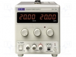 Aim-tti EX2020R / Pwr sup.unit: laboratory; Channels:1; 0÷20VDC; 0÷20A;
