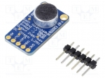 Adafruit 1713 / Module: audio; 3.3VDC; IC: MAX9814; Interface: analog; pi
