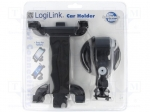 Logilink AA0030 / Car holder; black; Features: for windscreen