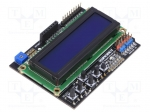 Dfrobot DFR0009 / Module: shield; LCD display; 5VDC; GPIO; Application: A