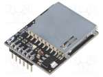 Dfrobot DFR0071 / Module: adapter; SD, pin strips; for SD card; Interface