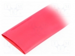 Alpha wire FIT2212IN RED 5X4 FT / Heat shrink sleeve; 2:1; 50.8mm; L:1.2m