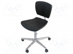 ESD chair; Conform to: EN 61340-5-1; Seat dim:450x440mm