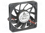 Delta electronics EFB0612MA / Fan: DC; axial; 60x60x10mm; 26.4m3/h; 29dBA