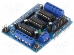 Okystar OKY2151-1 / DC-motor driver; L293D; PWM,analog; Icont out per cha